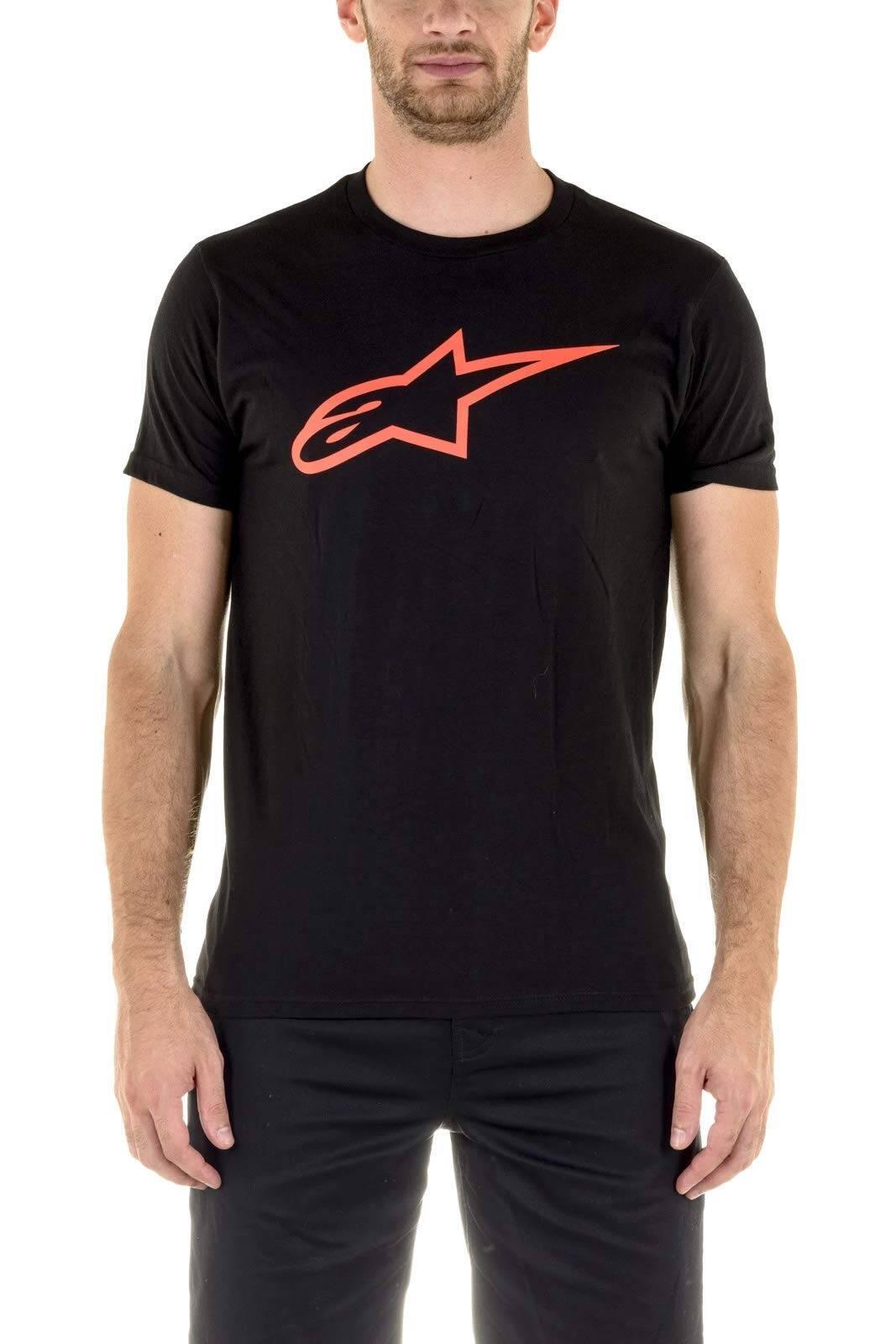 Alpinestars Ster Tee - zwart rode T-shirt voor mannen