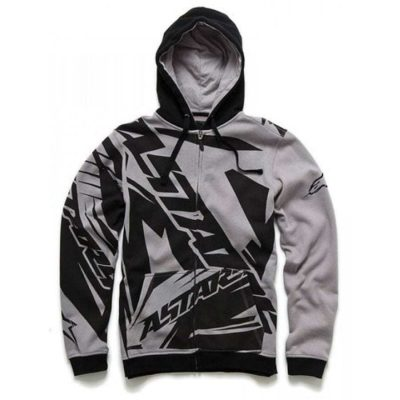 Alpinestars Biohazard Fleece - Trendy sweater grijs met zipper