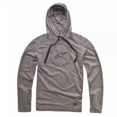 Alpinestars Borsen LS Sweat - neutrale hoodie voor mannen grijs
