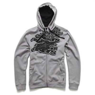 Alpinestars Mesher Fleece - Grijze sweater met volledige ritssluiting