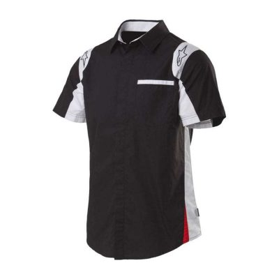 Alpinestars Sao Paolo Woven Shirt - zwart hemd voor heren