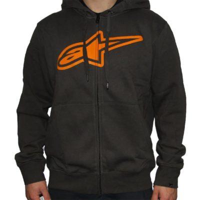 Alpinestars invers zip hoodie - sweater voor heren kaki groen