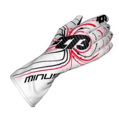 Minus 273 Handschoen voor kartsport type Zero Wit Zwart Rood