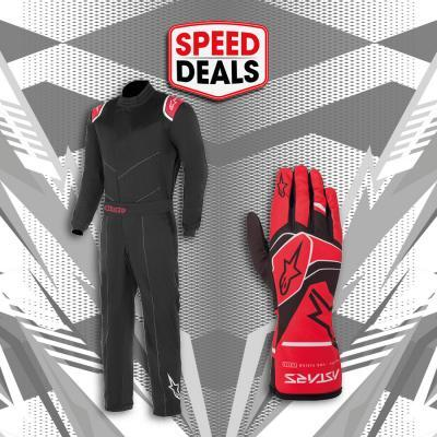 SpeedDeal Alpinestars indoor karting