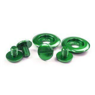 Screw kit voor Arai helm kleur groen