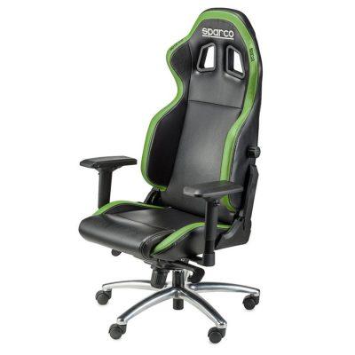 Sparco R100 S comfortabele bureaustoel in hoogte verstelbaar