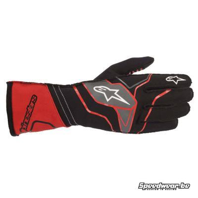 Alpinestars Tech 1 KX v2 kartinghandschoen -Zwart Rood
