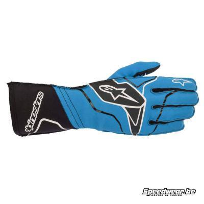 Alpinestars Tech 1 KX v2 handschoen kart -Blauw Zwart