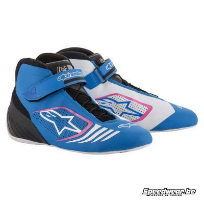 Alpinestars Kartschoen Tech 1 KX - Blauw Zwart Fuschia