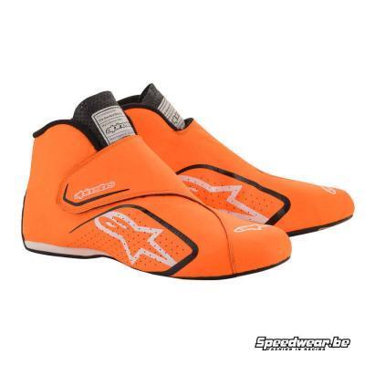Alpinestars Supermono Autoraceschoen Fluo Oranje Zwart