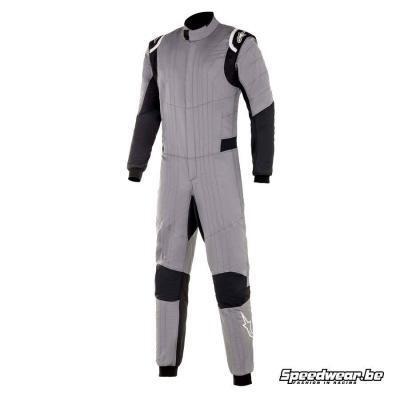 Alpinestars Race suit Hypertech V2 - Grijs Zwart