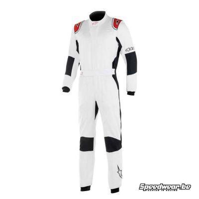 Alpinestars GP Tech V3 Auto racing pak - Wit Rood