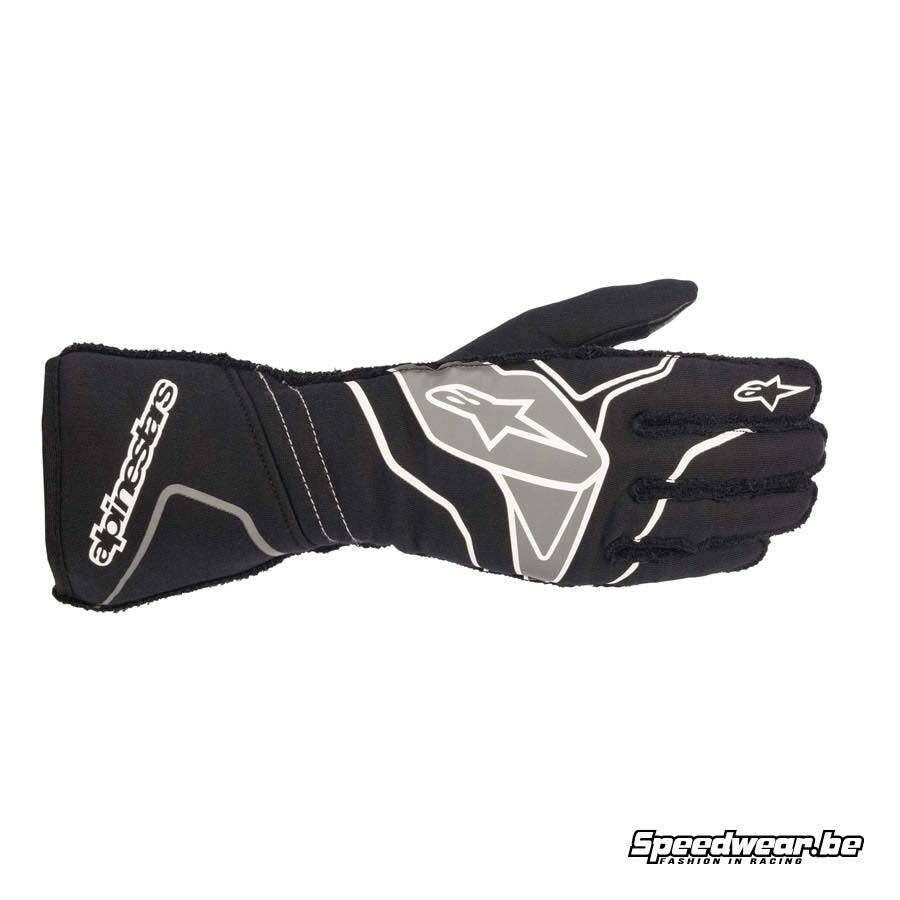 Alpinestars Tech 1 ZX V2 handschoen autosport - Zwart Anthraciet