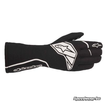 Alpinestars Tech 1-Start V2 Autoracing FIA Handschoen - Zwart Wit