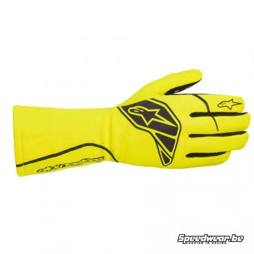 Alpinestars Tech 1-Start V2 Handschoen autoracing - Fluo geel Zwart
