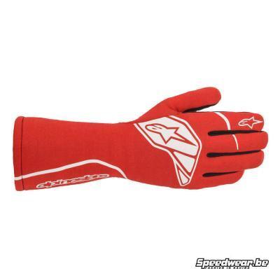Alpinestars Tech 1-Start V2 Handschoen voor autoracen - Rood Wit