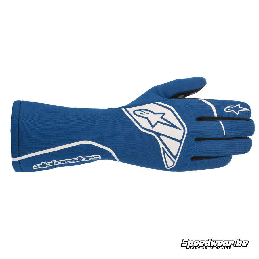 Alpinestars autohandschoen Tech 1-Start V2 FIA - Royaal Blauw Wit