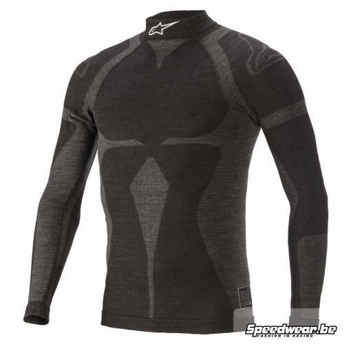 Alpinestars ZX EVO V2 Nomex Shirt - Zwart Grijs