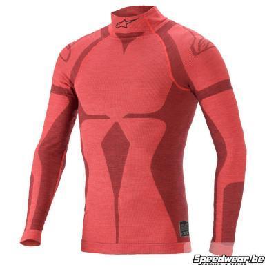 Alpinestars ZX EVO V2 Nomex Autoracing T-shirt - Rood