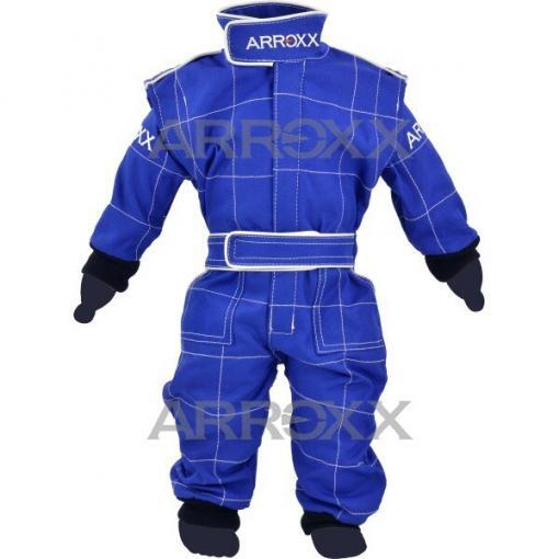 Arroxx baby karting overall - Blauw