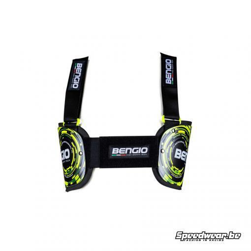 Bengio Ribbeschermer - Standard - Antraciet Fluogeel_Speedwear