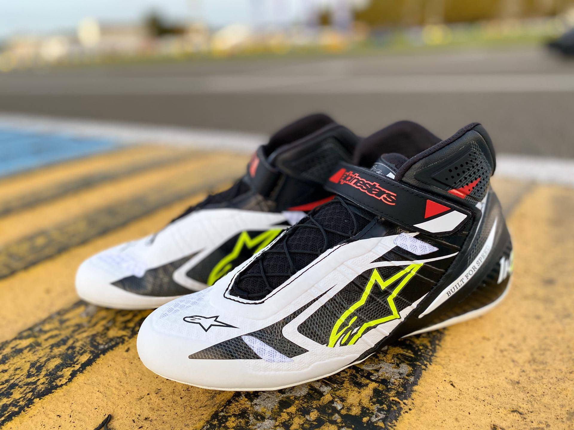Alpinestars schoenen karting Tech 1 KZ - Limited Edition