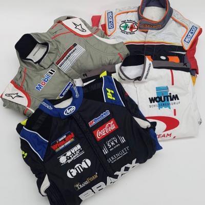 Waaier realisatie gepersonaliseerde overalls