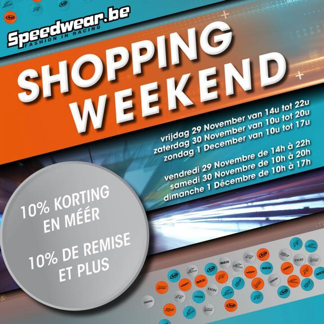 Speedwear Shopping Weekend 2019
