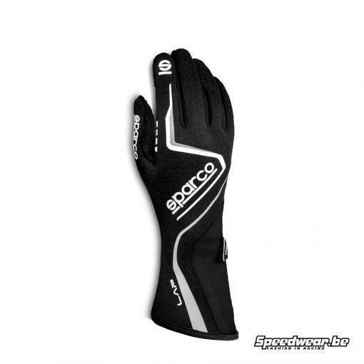 Sparco LAP handschoenen voor autoracing