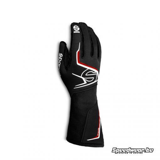 Sparco TIDE - handschoen autoracing - Zwart Rood