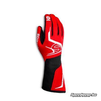Sparco TIDE - handschoen autoracing - Rood met zwart