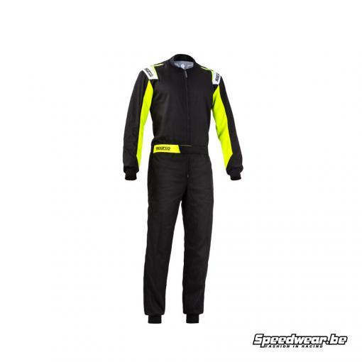 Sparco overall kartsport ROOKIE budgetvriendelijk