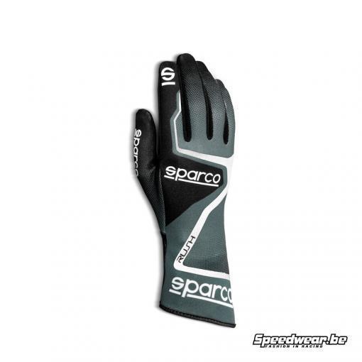 Sparco handschoen kartsport RUSH Grijs Zwart