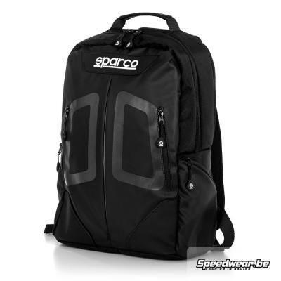 Sparco backpack STAGE modieuze rugzak zwart grijs