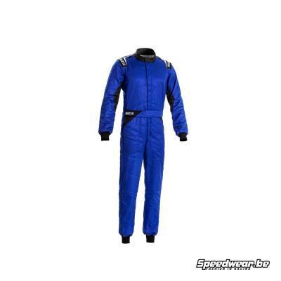 Sparco Goedkoop Racepak SPRINT Blauw - FIA homologatie