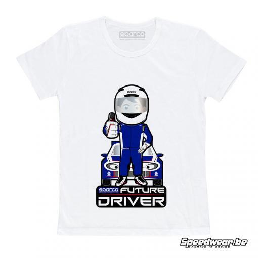Sparco T-shirt future driver kids