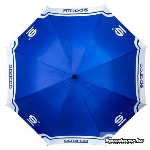 Sparco paraplu in kleur blauw wit