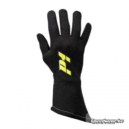 Handschoen voor stijlvolle autosportpiloot P1 Apex zwart