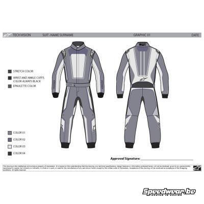 Alpinestars Tech Vision Graphic Editable 1