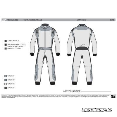 Alpinestars Tech Vision Graphic Editable 3