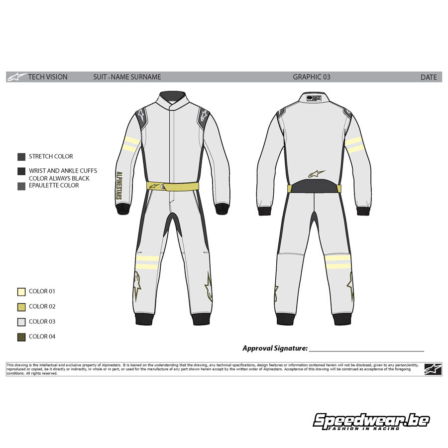 Alpinestars Tech Vision Graphic Editable 4