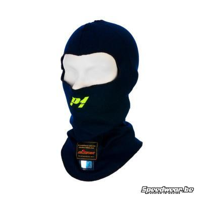 P1 Advanced Racewear helmmuts autosport Aramid - Navy blauw