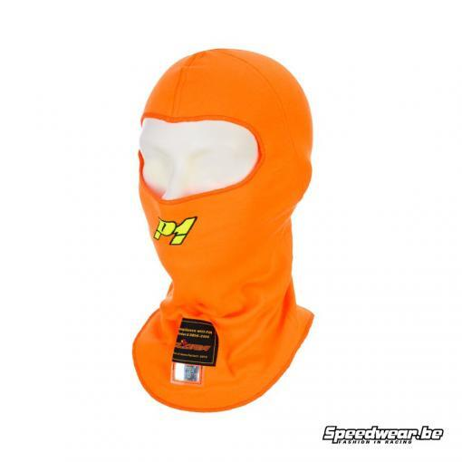 P1 Advanced Racewear Modacrylic helmmuts Racing Fluor oranje
