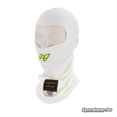 P1 Advanced racewear Nomex helmmuts Aramid - Wit