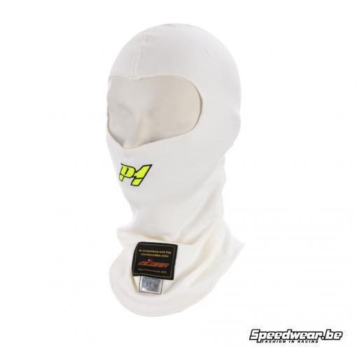 P1 Advanced racewear Nomex helmmuts Aramid - Wit