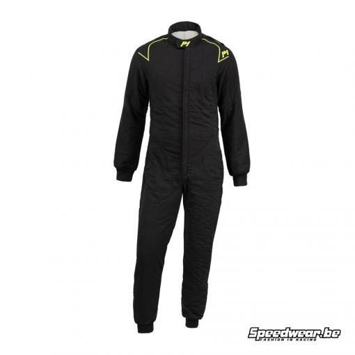 P1 Fia suit type CLUB - Zwart
