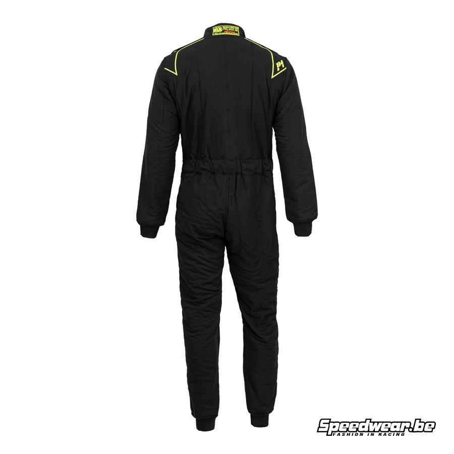 P1 Fia suit type CLUB - Zwart 1