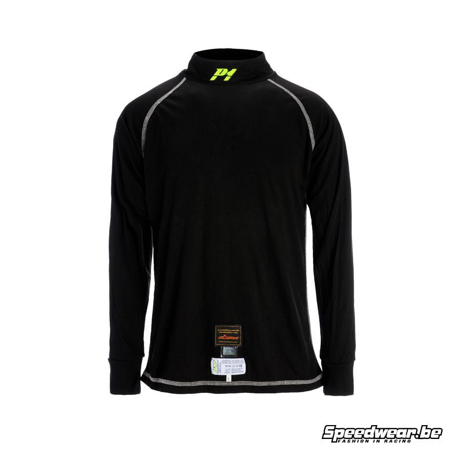 P1 Nomex T-shirt - Zwart