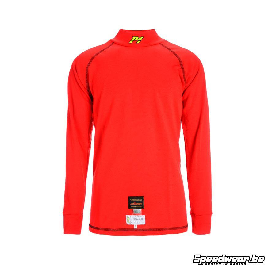 P1 FIA race t-shirt - Rood