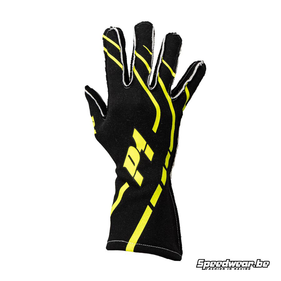 Rallyhandschoen Trendy P1 Advanced Racewear Black